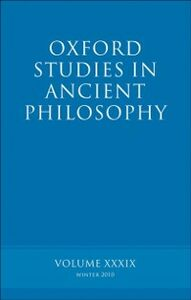 Ebook in inglese Oxford Studies in Ancient Philosophy volume 39 -, -