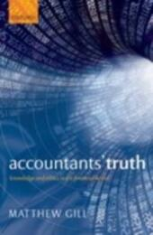 Accountants'Truth: Knowledge and Ethics in the Financial World