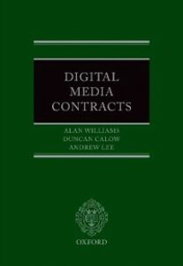 Foto Cover di Digital Media Contracts, Ebook inglese di AA.VV edito da OUP Oxford