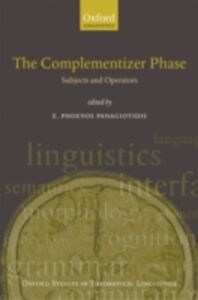 Ebook in inglese Complementizer Phase: Subjects and Operators -, -