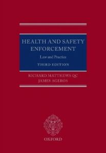 Ebook in inglese Health and Safety Enforcement: Law and Practice Ageros, James , Matthews QC, Richard