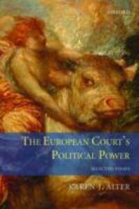 Ebook in inglese European Court's Political Power: Selected Essays Alter, Karen