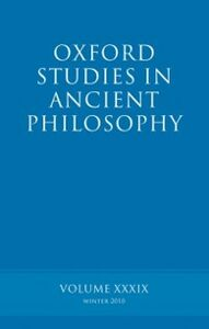 Ebook in inglese Oxford Studies in Ancient Philosophy volume 39