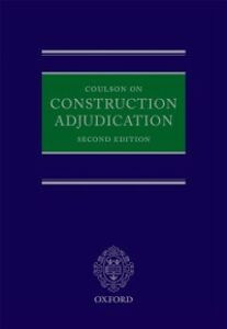 Foto Cover di Coulson on Construction Adjudication, Ebook inglese di Peter Coulson, edito da OUP Oxford