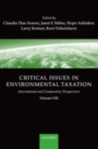 Ebook in inglese Critical Issues in Environmental Taxation: volume VIII -, -