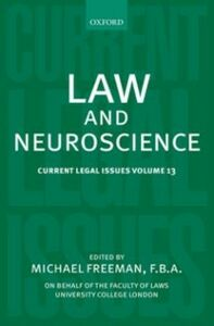 Ebook in inglese Law and Neuroscience: Current Legal Issues Volume 13 -, -