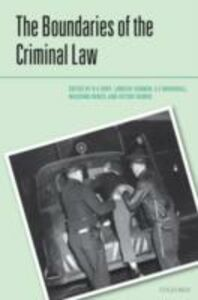 Ebook in inglese Boundaries of the Criminal Law -, -