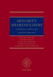 Minority Shareholders: Law, Practice and Procedure