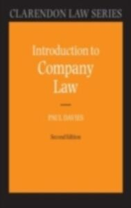 Ebook in inglese Introduction to Company Law Davies, Paul