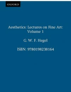 Ebook in inglese Aesthetics: Volume 1 Hegel, G. W. F.