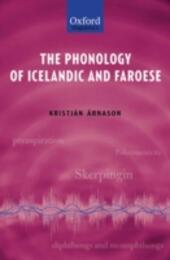 Phonology of Icelandic and Faroese