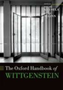 Ebook in inglese Oxford Handbook of Wittgenstein