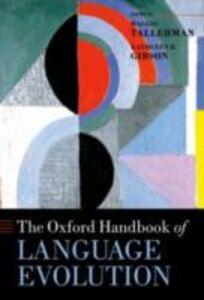 Ebook in inglese Oxford Handbook of Language Evolution -, -