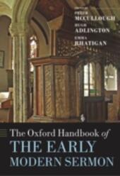 Oxford Handbook of the Early Modern Sermon