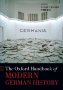Ebook in inglese Oxford Handbook of Modern German History
