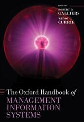 Oxford Handbook of Management Information Systems: Critical Perspectives and New Directions