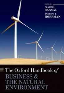 Foto Cover di Oxford Handbook of Business and the Natural Environment, Ebook inglese di  edito da OUP Oxford