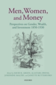 Ebook in inglese Men, Women, and Money: Perspectives on Gender, Wealth, and Investment 1850-1930 -, -