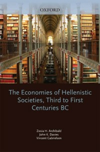 Ebook in inglese Economies of Hellenistic Societies, Third to First Centuries BC -, -