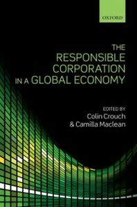 Ebook in inglese Responsible Corporation in a Global Economy -, -