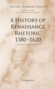 Ebook in inglese History of Renaissance Rhetoric 1380-1620 Mack, Peter