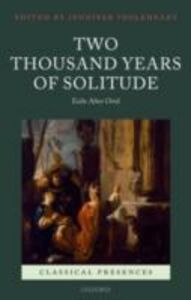 Ebook in inglese Two Thousand Years of Solitude: Exile After Ovid -, -