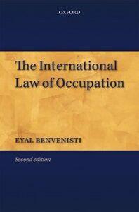Ebook in inglese International Law of Occupation Benvenisti, Eyal