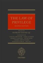 Law of Privilege