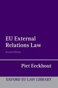 Ebook in inglese EU External Relations Law Eeckhout, Piet