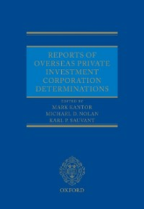 Ebook in inglese Reports of Overseas Private Investment Corporation Determinations -, -