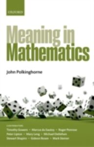 Foto Cover di Meaning in Mathematics, Ebook inglese di  edito da OUP Oxford