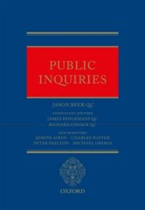 Ebook in inglese Public Inquiries Beer QC, Jason