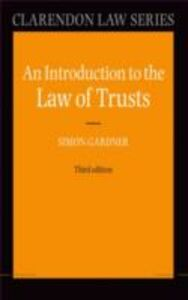 Ebook in inglese Introduction to the Law of Trusts Gardner, Simon