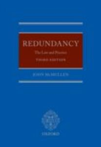 Ebook in inglese Redundancy: The Law and Practice McMullen, John