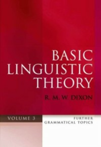 Ebook in inglese Basic Linguistic Theory Volume 3: Further Grammatical Topics Dixon, R. M. W.