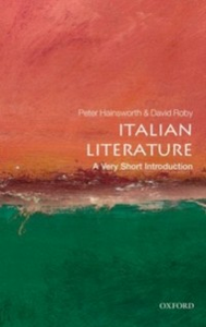Ebook in inglese Italian Literature: A Very Short Introduction Hainsworth, Peter , Robey, David