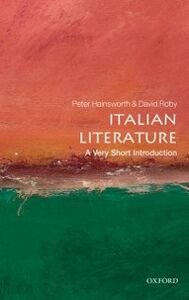 Ebook in inglese Italian Literature: A Very Short Introduction -, -
