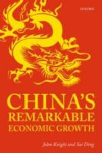 Ebook in inglese China's Remarkable Economic Growth Ding, Sai , Knight, John
