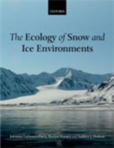 Foto Cover di Ecology of Snow and Ice Environments, Ebook inglese di AA.VV edito da OUP Oxford