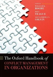 Ebook in inglese Oxford Handbook of Conflict Management in Organizations