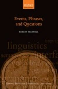 Ebook in inglese Events, Phrases, and Questions Truswell, Robert