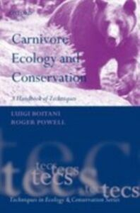 Ebook in inglese Carnivore Ecology and Conservation: A Handbook of Techniques