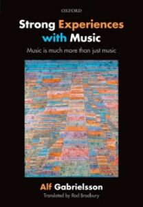 Ebook in inglese Strong Experiences with Music: Music is much more than just music Gabrielsson, Alf