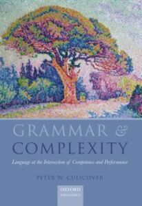 Foto Cover di Grammar & Complexity: Language at the Intersection of Competence and Performance, Ebook inglese di Peter W. Culicover, edito da OUP Oxford