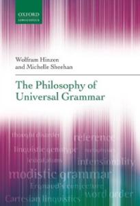 Ebook in inglese Philosophy of Universal Grammar Hinzen, Wolfram , Sheehan, Michelle