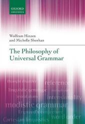 Philosophy of Universal Grammar