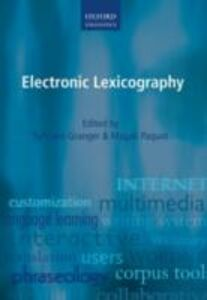 Ebook in inglese Electronic Lexicography -, -