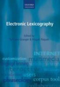 Foto Cover di Electronic Lexicography, Ebook inglese di  edito da OUP Oxford