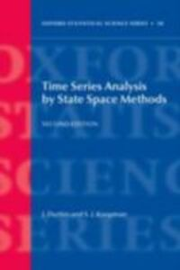 Foto Cover di Time Series Analysis by State Space Methods: Second Edition, Ebook inglese di James Durbin,Siem Jan Koopman, edito da OUP Oxford