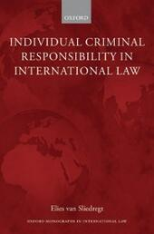Individual Criminal Responsibility in International Law